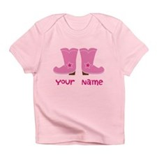 Personalized Cowgirl Infant T-Shirt