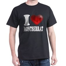 I Heart Montserrat T-Shirt