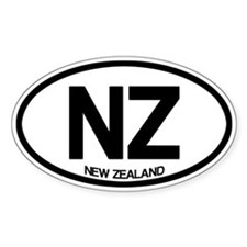 New Zealand Bumper Stickers