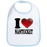 I Heart Nantucket Bib