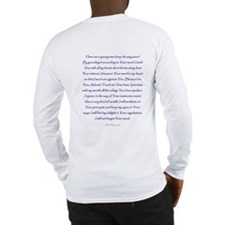 Bet Hebrew Language Long Sleeve T-Shirt