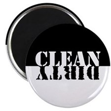 Clean Dirty Reversible Magnet