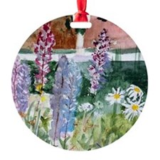 Wild Lupine Ornament