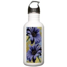 TwoPurpleAsters.png Water Bottle