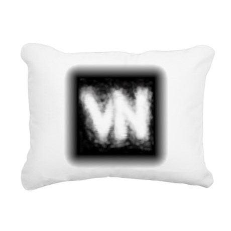 VN Logo Rectangular Canvas Pillow