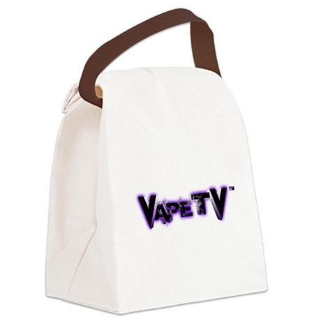 VapeTV Canvas Lunch Bag