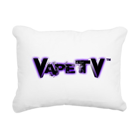 VapeTV Rectangular Canvas Pillow