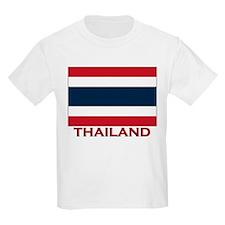 Thailand Flag Merchandise Kids T-Shirt