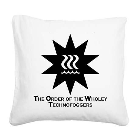 Technofogger Square Canvas Pillow