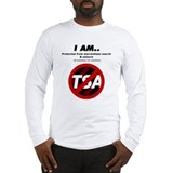 No TSA 4th Amendment Long Sleeve T-Shirt