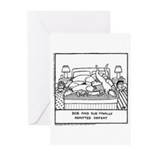 Finally Admitted Defeat - Greeting Cards (Pk of 20