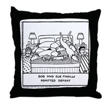 Finally Admitted Defeat - Throw Pillow