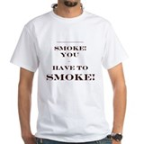 Subliminal Smoking Ad Shirt