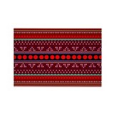 Cute Sudan women Rectangle Magnet