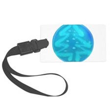 Xmas Tree Ice Luggage Tag