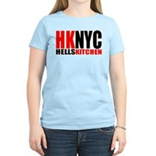 Hell's Kitchen NYC Women's Pink T-Shirt