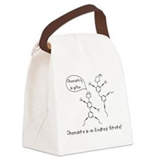 Excited State Canvas Lunch Bag