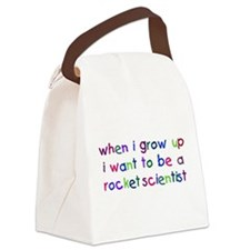 Cute Geek baby Canvas Lunch Bag