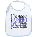 Bravest Hero I Knew Prostate Cancer Gifts Bib