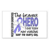Bravest Hero I Knew Prostate Cancer Gifts Decal