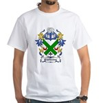 Clarksone Coat of Arms White T-Shirt