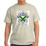 Clarksone Coat of Arms Ash Grey T-Shirt