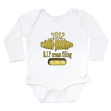 R.I.P cream filling Long Sleeve Infant Bodysuit