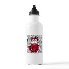 Ladybug Zebra Cat Water Bottle