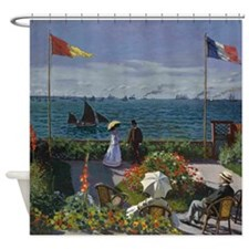 Jardin Sainte Adresse by Monet Shower Curtain