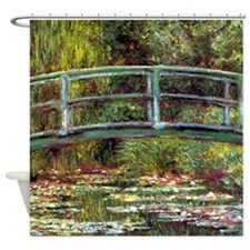Garden at Giverny by Monet Shower Curtain