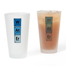 W.At.Er Drinking Glass