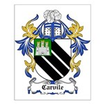 Carvile Coat of Arms Small Poster