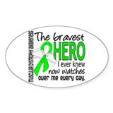 Bravest Hero I Knew Muscular Dystrophy Decal