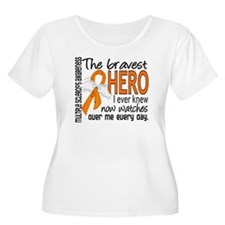 Bravest Hero I Knew Multiple Sclerosis T-Shirt