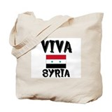 Flag of Syria Tote Bag