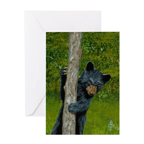 Peek - a - Boo: Greeting Card