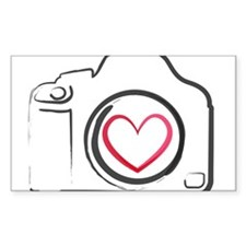 I Heart Photography Stickers