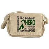 Bravest Hero I Knew Liver Cancer Messenger Bag