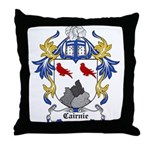 Cairnie Coat of Arms Throw Pillow