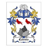 Cairnie Coat of Arms Small Poster