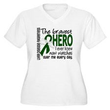 Bravest Hero I Knew Liver Disease T-Shirt