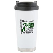 Bravest Hero I Knew Liver Disease Ceramic Travel M