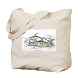 Bonito and Swordfish Fish Tote Bag