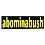 abominabush Bumper Sticker