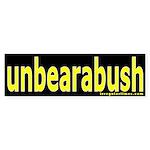 unbearabush Bumper Sticker