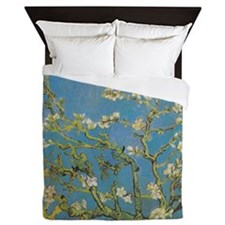 Almond Branches by Van Gogh Queen Duvet