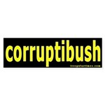 corruptibush Bumper Sticker