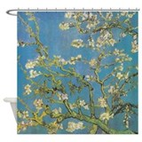 Almond Branches by Van Gogh Shower Curtain