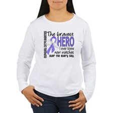 Bravest Hero I Knew Esophageal Cancer T-Shirt
