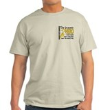 Bravest Hero I Knew Childhood Cancer T-Shirt